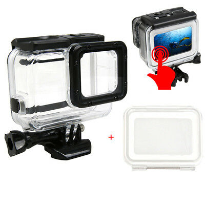 Touch Screen Waterproof Case For Gopro Hero6/5 Diving Housing Sport Camera Shell