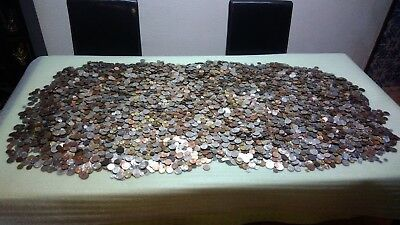 1 Kg Lot Mixed Portugal Coins 90-120 coins Circulated/Unc FREE SHIPP Last Ones!!