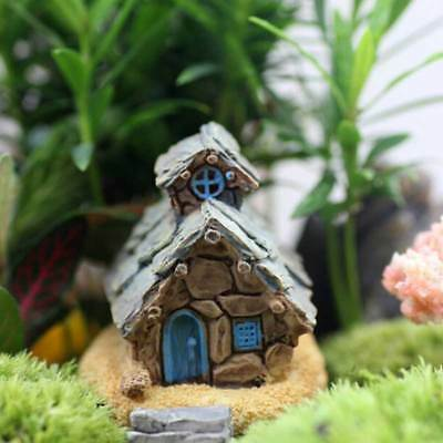 SOLAR FAIRY GARDEN house - fairy godmother's cottage