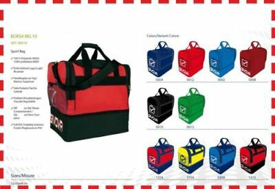 Bag Givova Big for Football Fitness Gym with Compartment Shoes