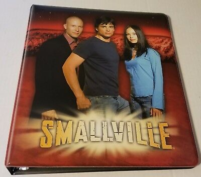 LOT OF (4) SMALLVILLE  Season 2  Official INKWORKS Trading card Padded Binders