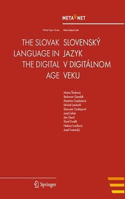 The Slovak Language in the Digital Age, Georg Rehm