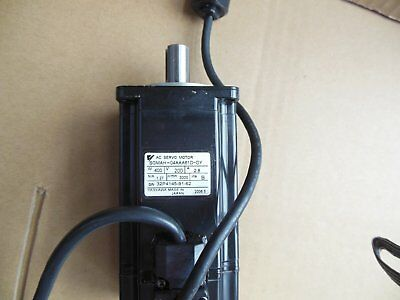 1PC USED YASKAWA SERVO MOTOR SGMAH-04AAA61D-OY Tested In Good Condition #ST