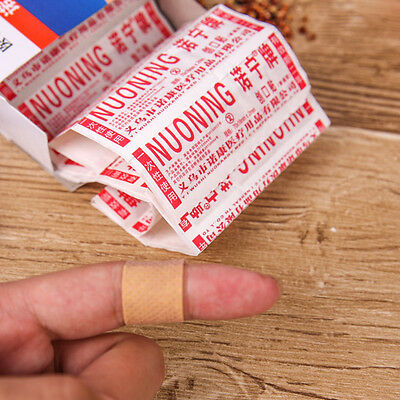 100PCS Strips Band aid PE Waterproof Bandages Adhesive Bandages&l/