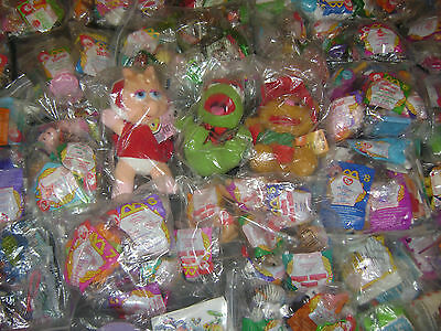 McDONALDS HAPPY MEAL TOYS  rare sets Disney, Barbie, Hot Wheels from 1990's MIP