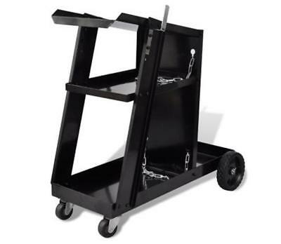 Welding Cart Trolley Workshop Organizer Strong Durable Sturdy Space Saving Tool