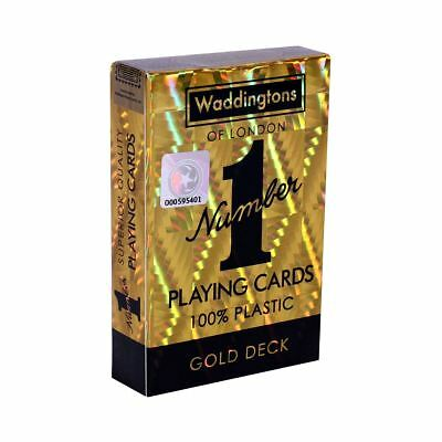 Classic Gold Waddingtons Number 1 Playing Cards