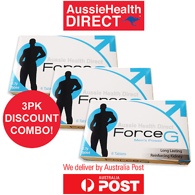 FORCE G Premature Ejaculation Delay Pills Longer Lasting Sex PE treatment 18PK