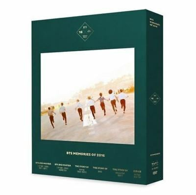 BTS Bangtan Boys 2016 Memories Package KPOP with Free Gift & Tracking Number