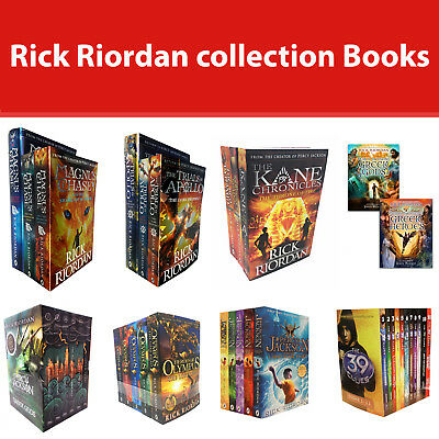 Rick Riordan Collection Books Set 39 Clues Percy Jackson Heroes of Olympus NEW