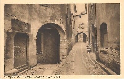 Carte Postale - (06) Alpes Maritime - CPA - St Paul de Vence - Porte Antique
