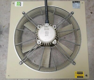 Elta Compact SCP Wall Fan 560mm Extractor Spray Booth / Kitchen / Workshop