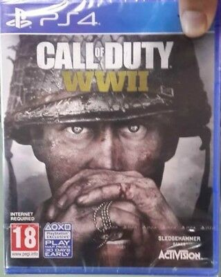 Call of Duty WWII World War 2 (Sony PlayStation 4 PS4) Brand New Factory Sealed