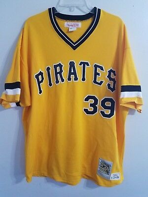 bd646d725 Mitchell   Ness MLB Pittsburgh Pirates Dave Parker 39 Throwback Jersey Mens  2XL