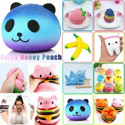 Anti-stress Cute Squishy Charm Slow Rising Unicorn Squishes Galaxy Panda Peach S
