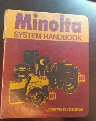 VINTAGE MINOLTA SYSTEM HANDBOOK  35mm Photography Camera