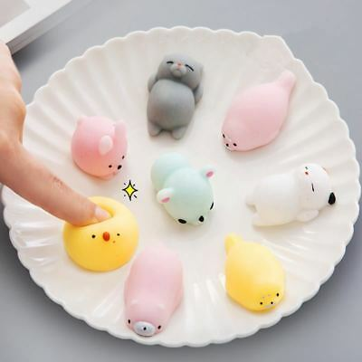Mini Squishy Toy Cute Animal Antistress Ball Squeeze Mochi Rising Toys Abreact S