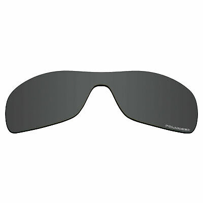 16f063a571 RAWD Stealth Black Polarized Polycarbonate Replacement Lenses for-Oakley  Antix