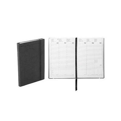 Nava Agenda 2019 Work 7 Small Flexy 18 mesi 11x16,5Cm Black