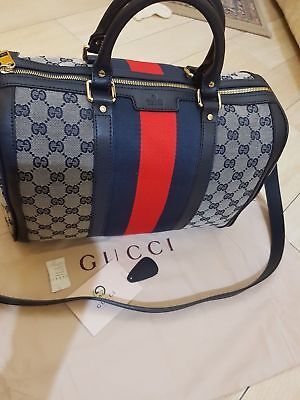 1b5bd49ef788 AUTHENTIC GUCCI GG Canvas Black Document Holders Agenda  6856 ...