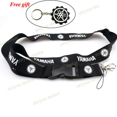 Lanyard Straps Neck Keychain Phone Card Holder For Yamaha YZF R1 R3 R6 YZF600R