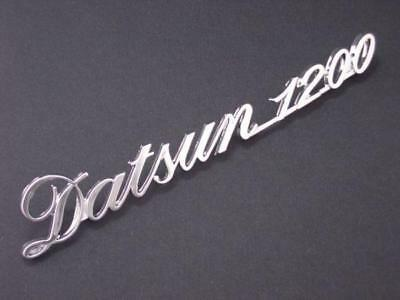 DATSUN 1200 EMBLEM BUDGE for Rear of B110 Genuine RARE JAPAN GENUINE Parts