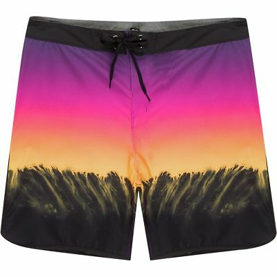 ef81f5537c HURLEY PHANTOM ESTUARY 18in Board Short - Men's Pink Blast 36 ...