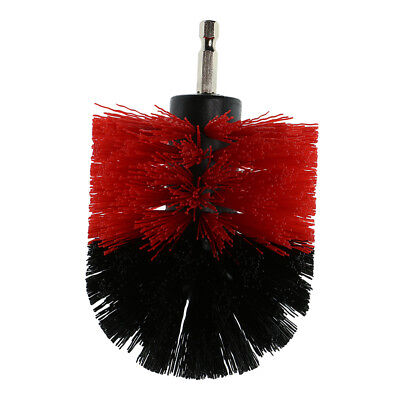 Bathtub Tile Grout Power Cleaning Drill Attachment Brush Tool Red 3.5inch