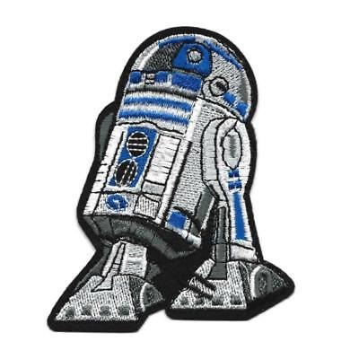 R2D2 ASTROMECH DROID Robot Star wars Patch Embroidered Iron