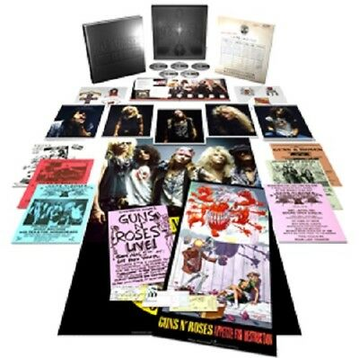 Guns 'n Roses ~ *appetite For Destruction* ~ Ltd. Ed. 4Cd/blu Ray Boxset ~ *new*