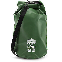Dri-Tech Waterproof Dry Bag, 40 Liter Camping Long Trips Withstand Rain Outdoors