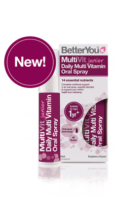Better You Multivit Junior Daily Multi Vitamin Oral Spray (25ml)
