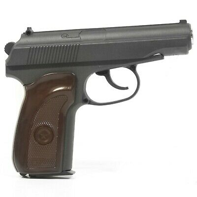 Voll Metall Pistole Replika Makarov (PM) Softair G29 + 1000 BB Plastikkugel