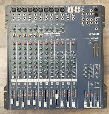 Yamaha MG116C - 16 channel analog audio mixer