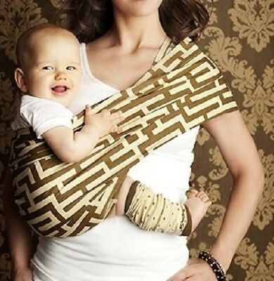 2bf3500f343 SEVEN EVERYDAY SLINGS Infant Carrier Baby Sling Carmel Latte Size 7 ...