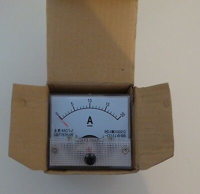 Small Analogue Ammeter