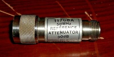 Hewlett Packard Agilent 11708A 50 MHz Reference Attenuator 30 dB **TESTED**