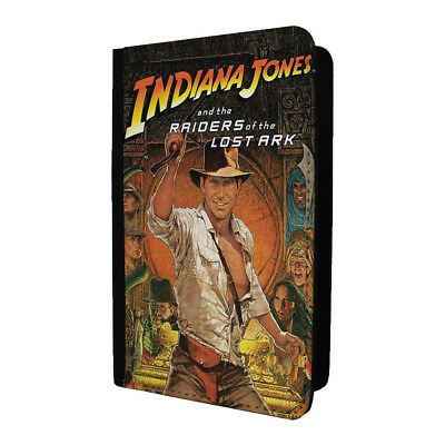 Classic Movie Poster Passport Holder Case Cover - Indiana Jones - S-A1277