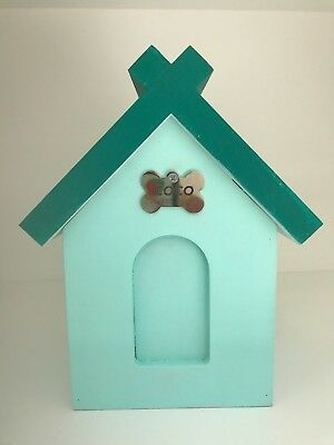 Unique Wooden Personalised Pet /Dog/Cat Memory Box /  Urn. Hand painted.