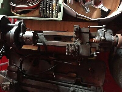 2 Small Pre-War Engineering Model Makers Lathes in need of restoration.