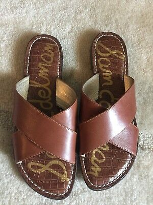 d1908089115f CIRCUS BY SAM Edelman Women s Broden Slip On Sandals Size 8 M Brown ...