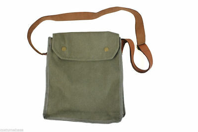 Jones MK VII Gas Mask BAG Green Indiana Indy Props WWII