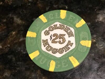 $25 Golden Nugget  Atlantic City First Issue