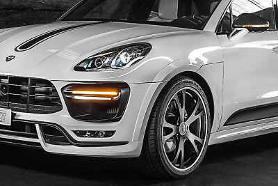 New Techart Porsche Macan Turbo Tuning Brochure Modified Made In