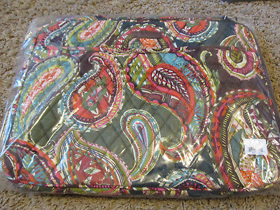 a75003001c5e NEW Vera Bradley Laptop Organizer Heirloom Paisley with handle   tags