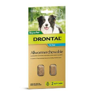 Drontal Allwormer Chews for Medium Dogs