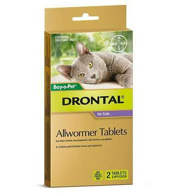 Drontal Allwormer Tablets for Cats