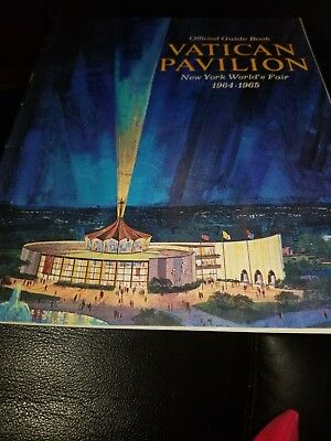 New York World's Fair 1964-1965 Vatican Pavilion  Guide Book