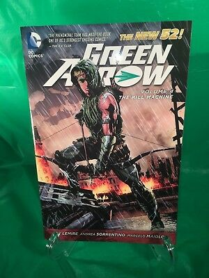 Catwoman vol 4 gotham underground the new 52 catwoman dc green arrow the kill machine vol 4 by jeff lemire paperback used new 52 dc fandeluxe Images