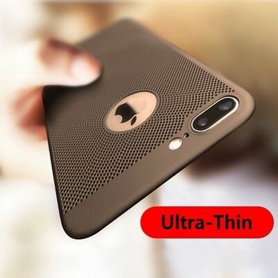 XHCOMPANY Ultra-Thin Breathing Phone Case Shockproof PC Back Covers Cellphone